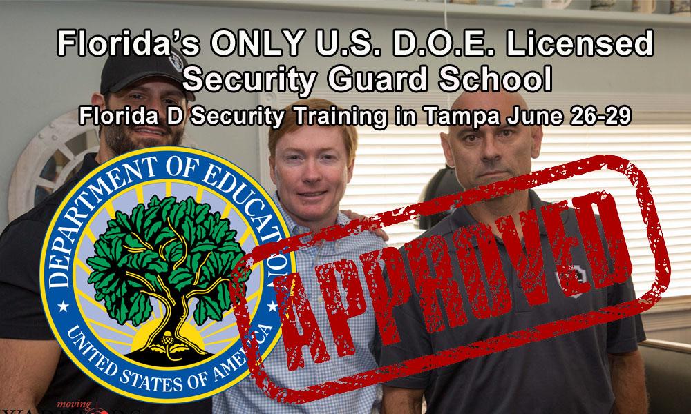 Florida D License Class in Tampa June 26-29