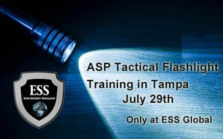ASP Tactical Flashlight Training in Tampa July 29