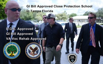 GI Bill Approved Close Protection School