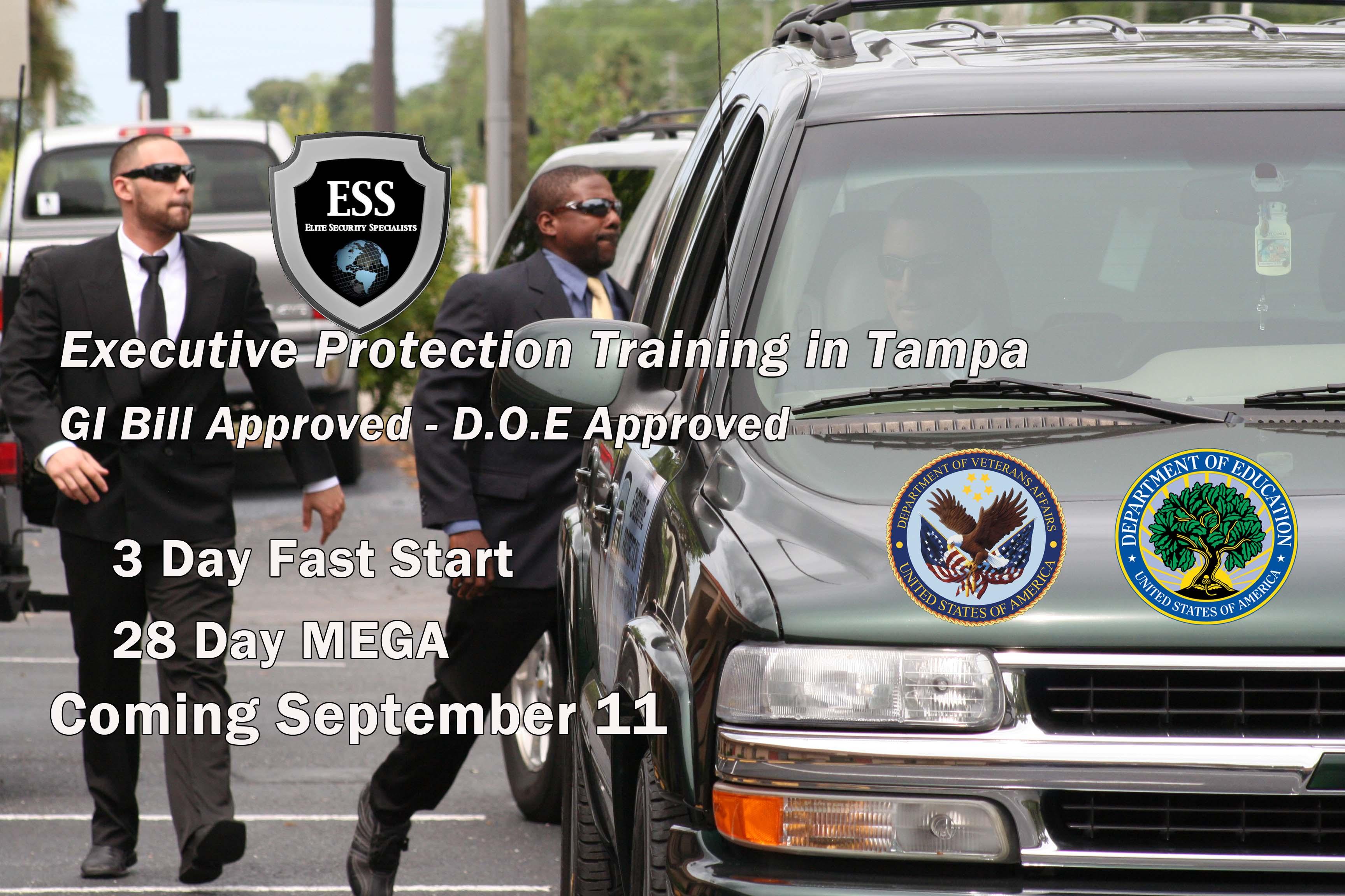 Executive Protection Courses in Florida - September 11
