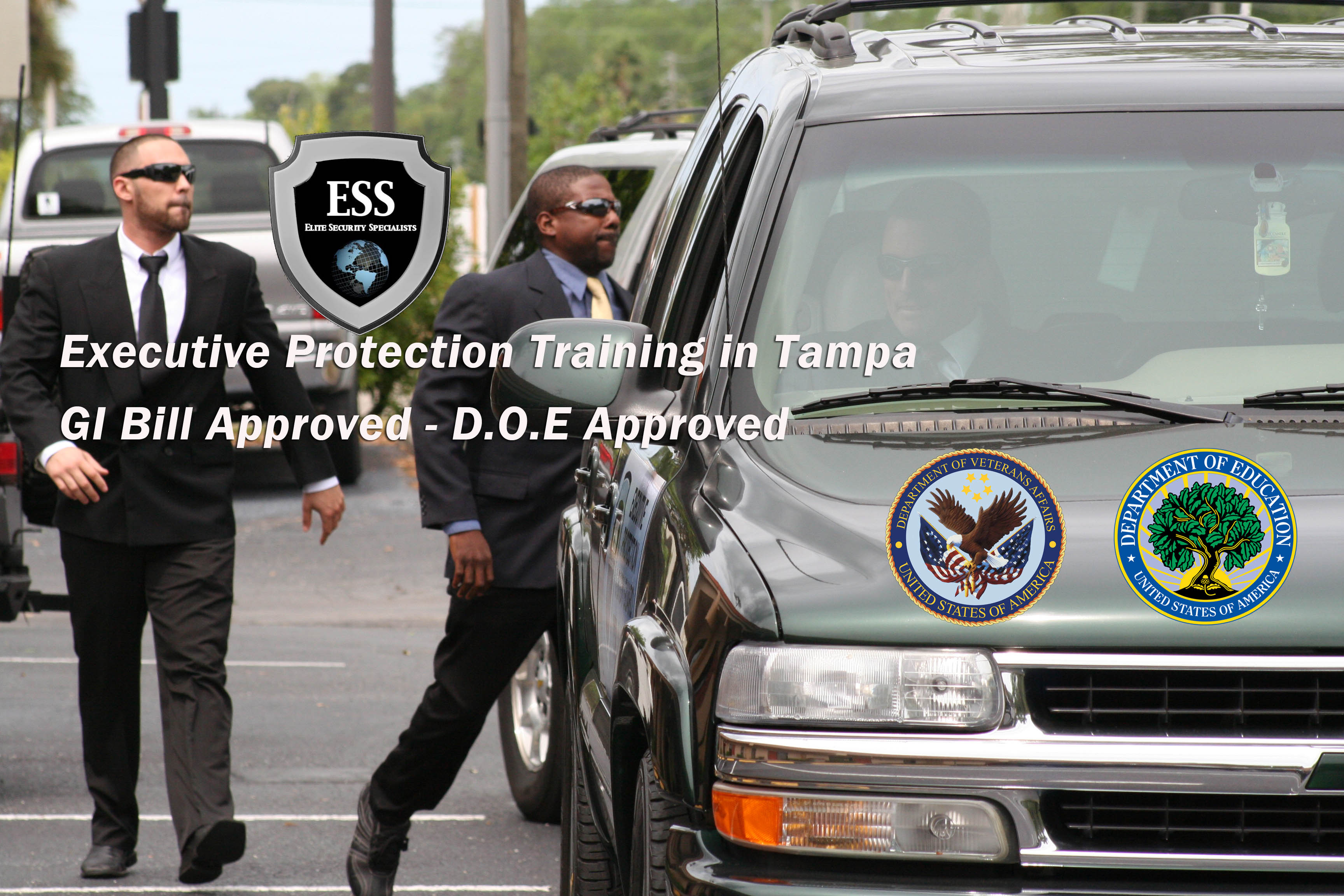 GI Bill Approved Bodyguard Schools - Tampa