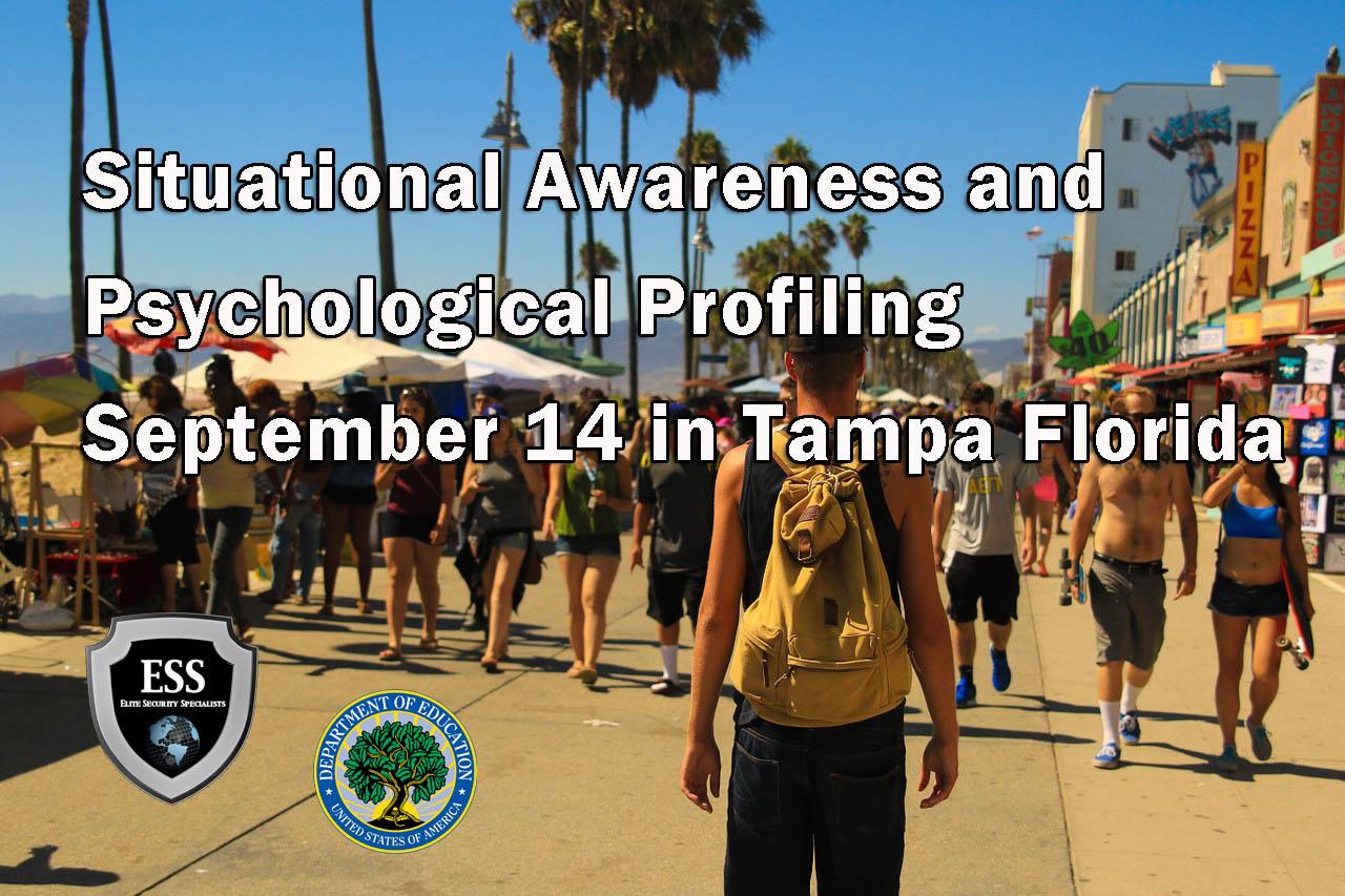 Situational Awareness Training in Tampa September 14