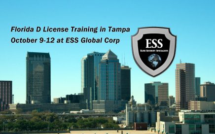 Florida D License Training in Tampa October 9-12