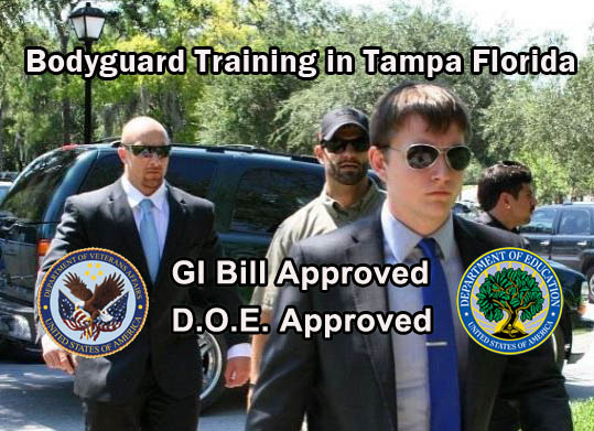 Bodyguard Training in Tampa Florida