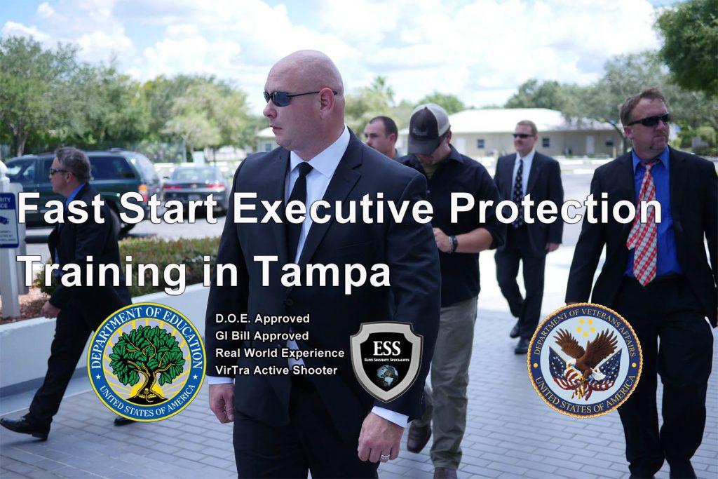 Bodyguard Training in Tampa Florida - Fast Start