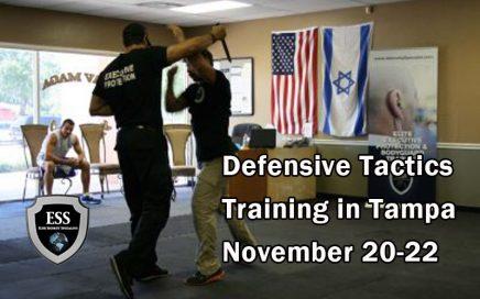 Defensive Tactics Training in Tampa November 20-22
