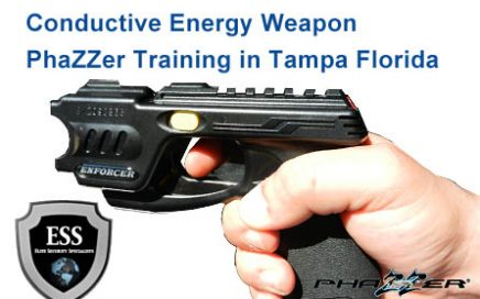 Conductive Energy Weapon Training in Tampa January 28