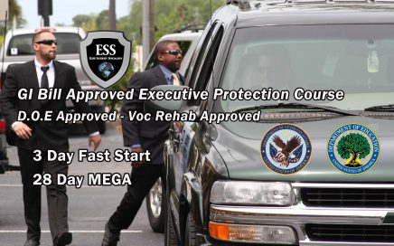 GI Bill Approved Executive Protection Course