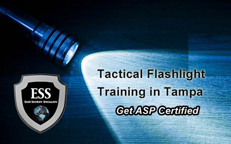 ASP Tactical Flashlight and Handcuff Training in Tampa