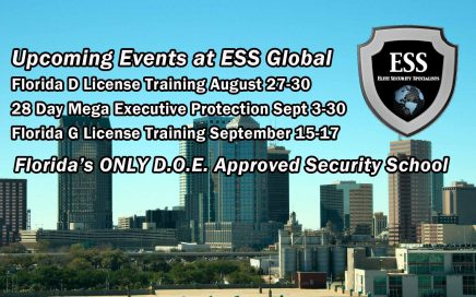 upcoming events at ess global