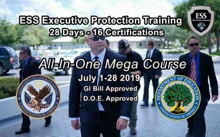Executive Protection Training - GI Bill Approved