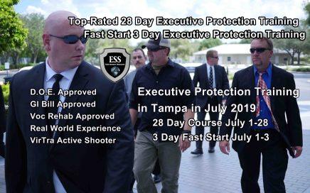 Florida Bodyguard Training