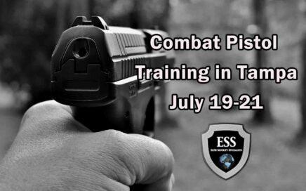 Combat Pistol Training in Tampa 1 JULY