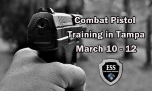 Combat Pistol Training in Tampa 1 March