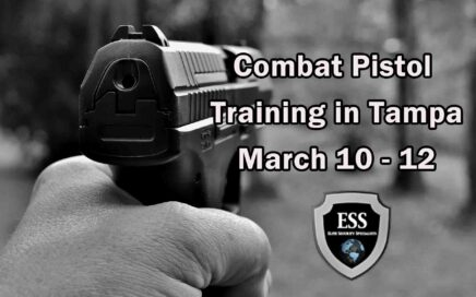 Combat Pistol Training in Tampa 1 March