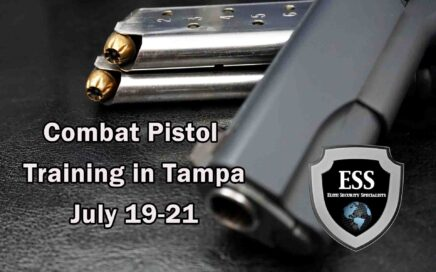 Combat Pistol Training in Tampa 2 JULY