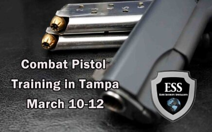 Combat Pistol Training in Tampa 2 March
