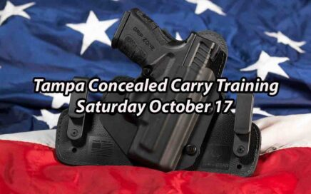 Tampa Concealed Carry Training October