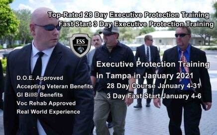 Executive Protection Training - Tampa January