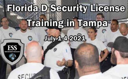 Florida D Security License Training in Tampa July 2021 Stadium Security