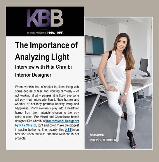 KBB Magazine rita chraibi
