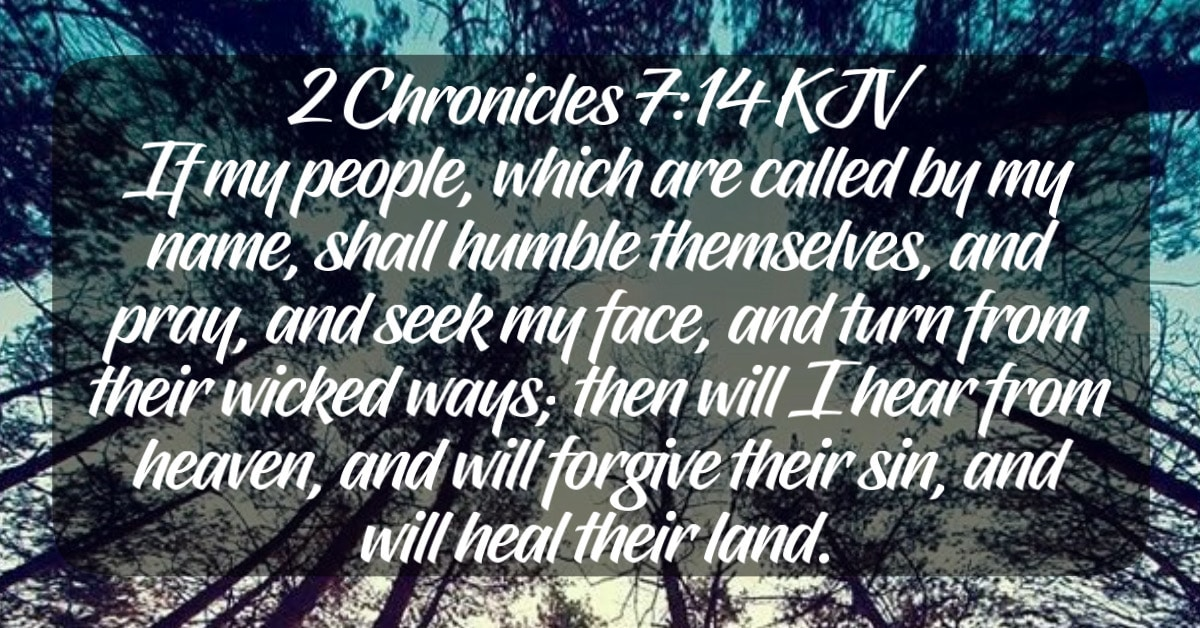 Pray and seek His face