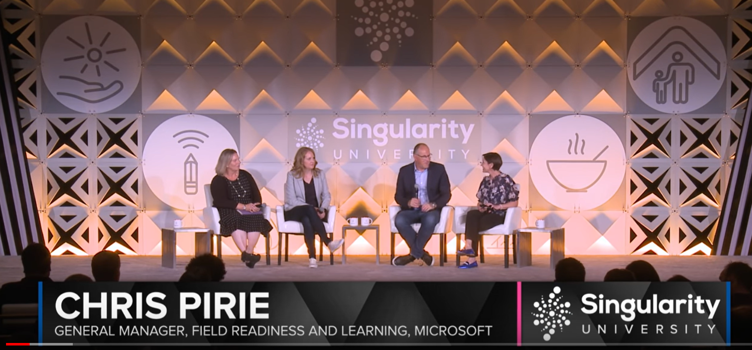Chris at Singularity Conference