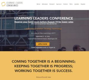 Learning Leadership Conference DC