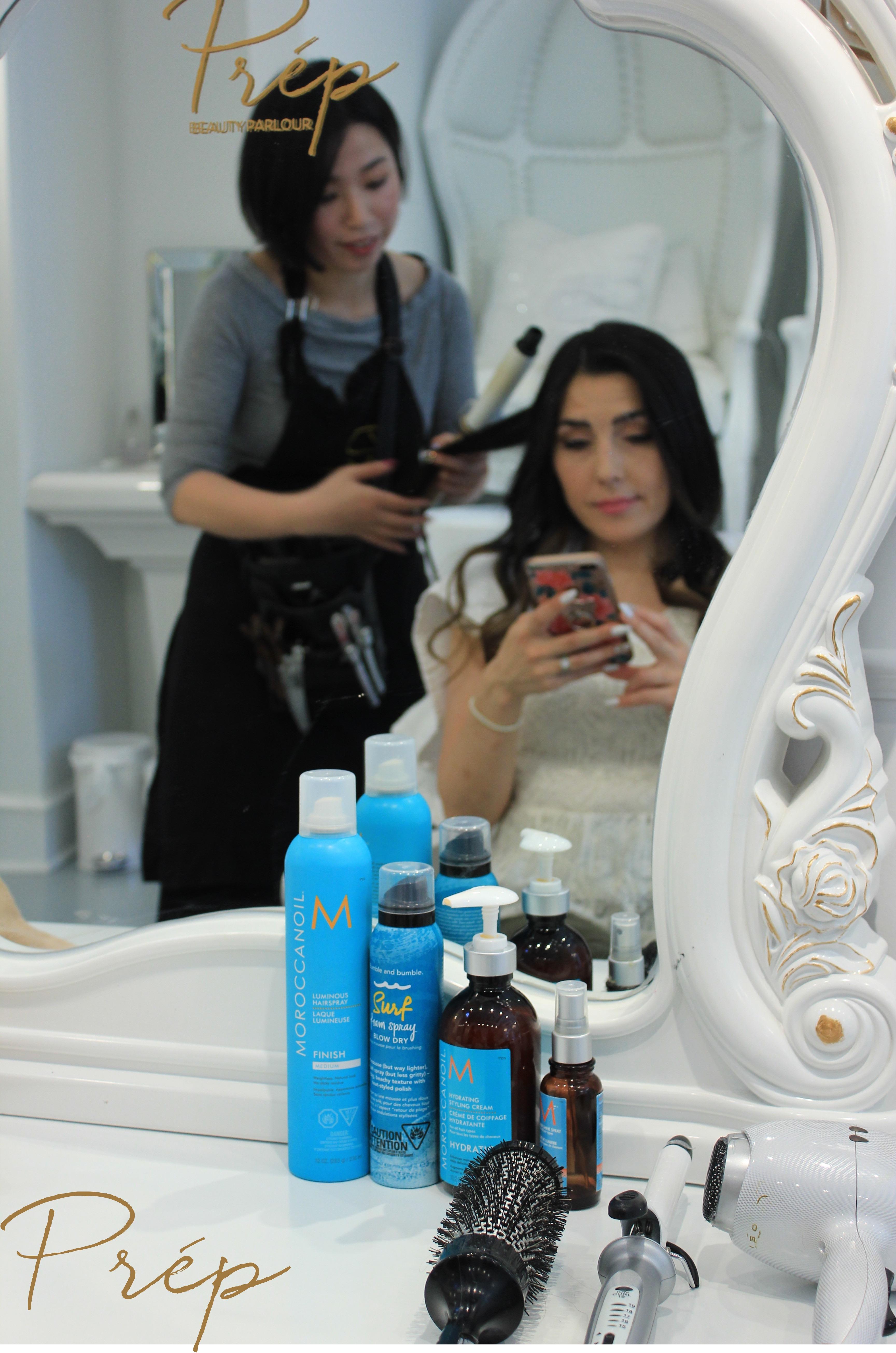 Blow- Outs in Vancouver   Prép Beauty Parlour