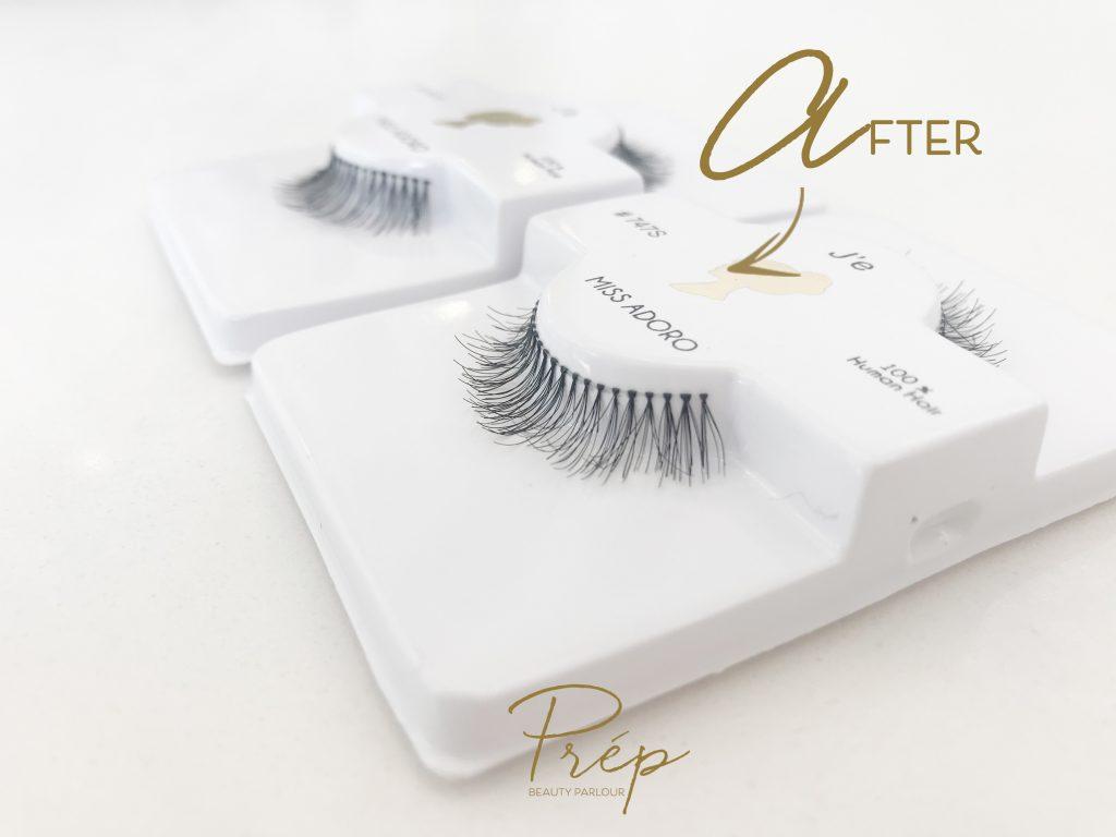 Makeup hack cheap lashes to mink | Prép Beauty Parlour