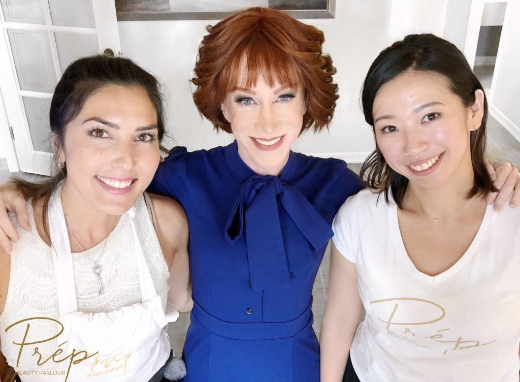 KATHY GRIFFIN Best Mobile Beauty Salon Vancouver | Prép Beauty Parlour