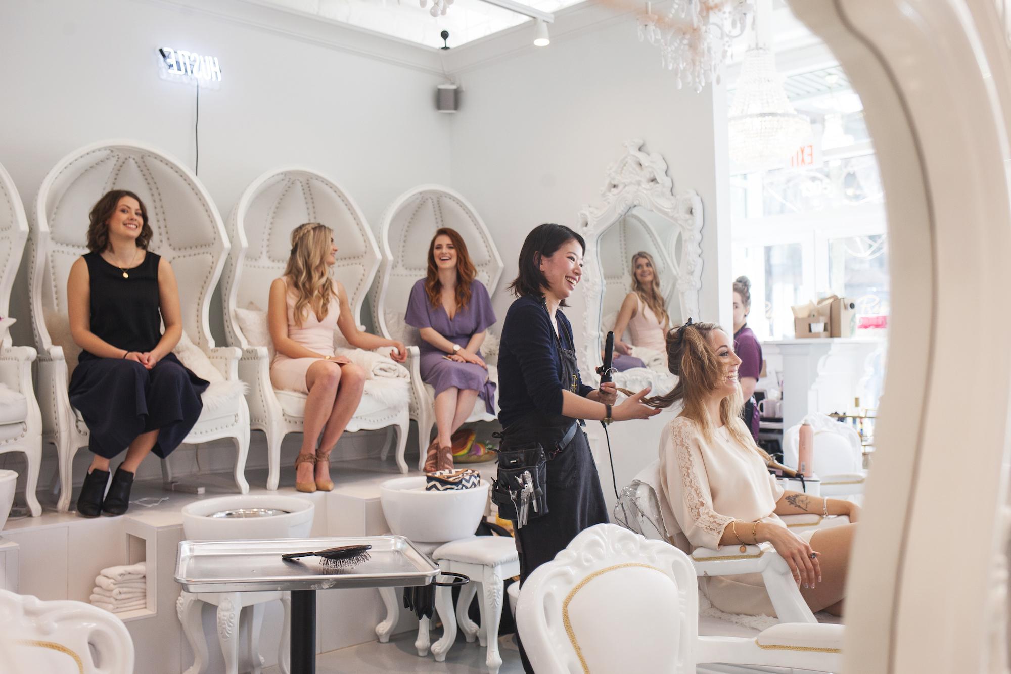 Project You Bachelorette Spa Vancouver Party   Prép Beauty Parlour
