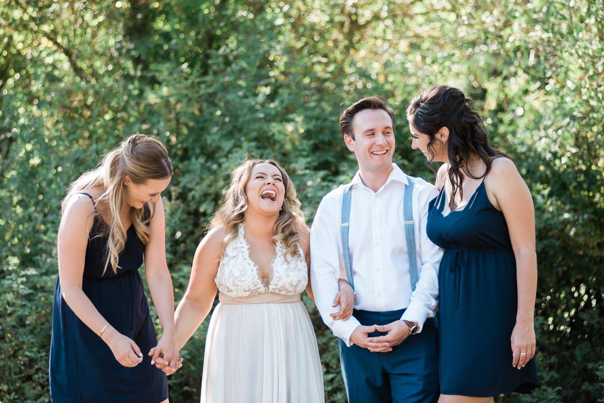 The Beautiful Vancouver Backyard Wedding | Prép Beauty Parlour