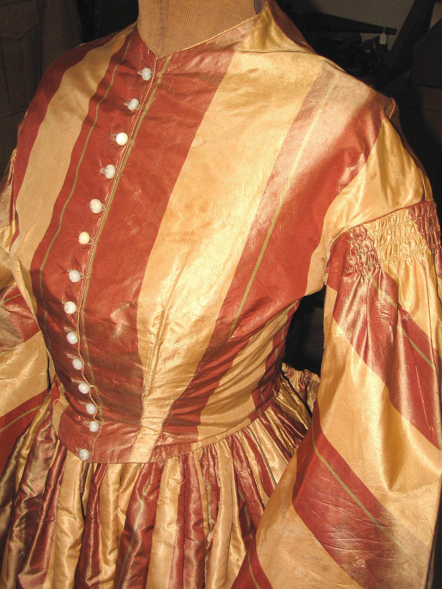 Wedding dress of Harriet Dodd