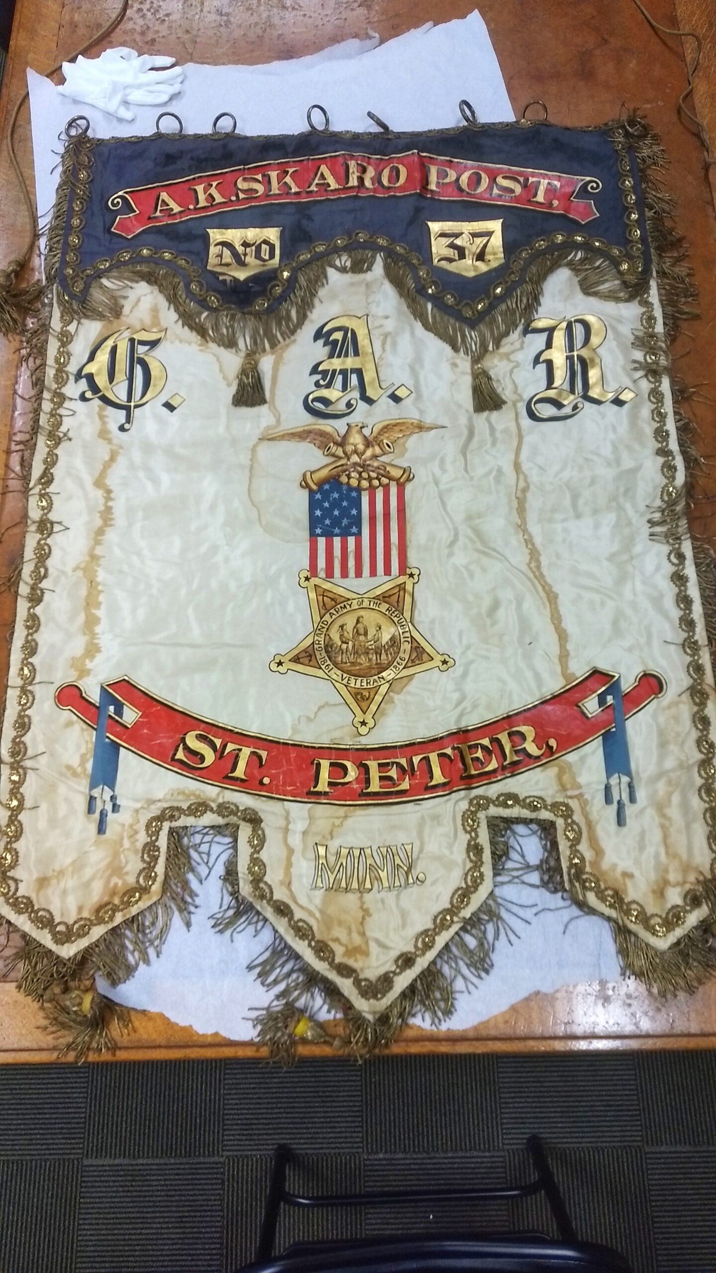 GAR banner