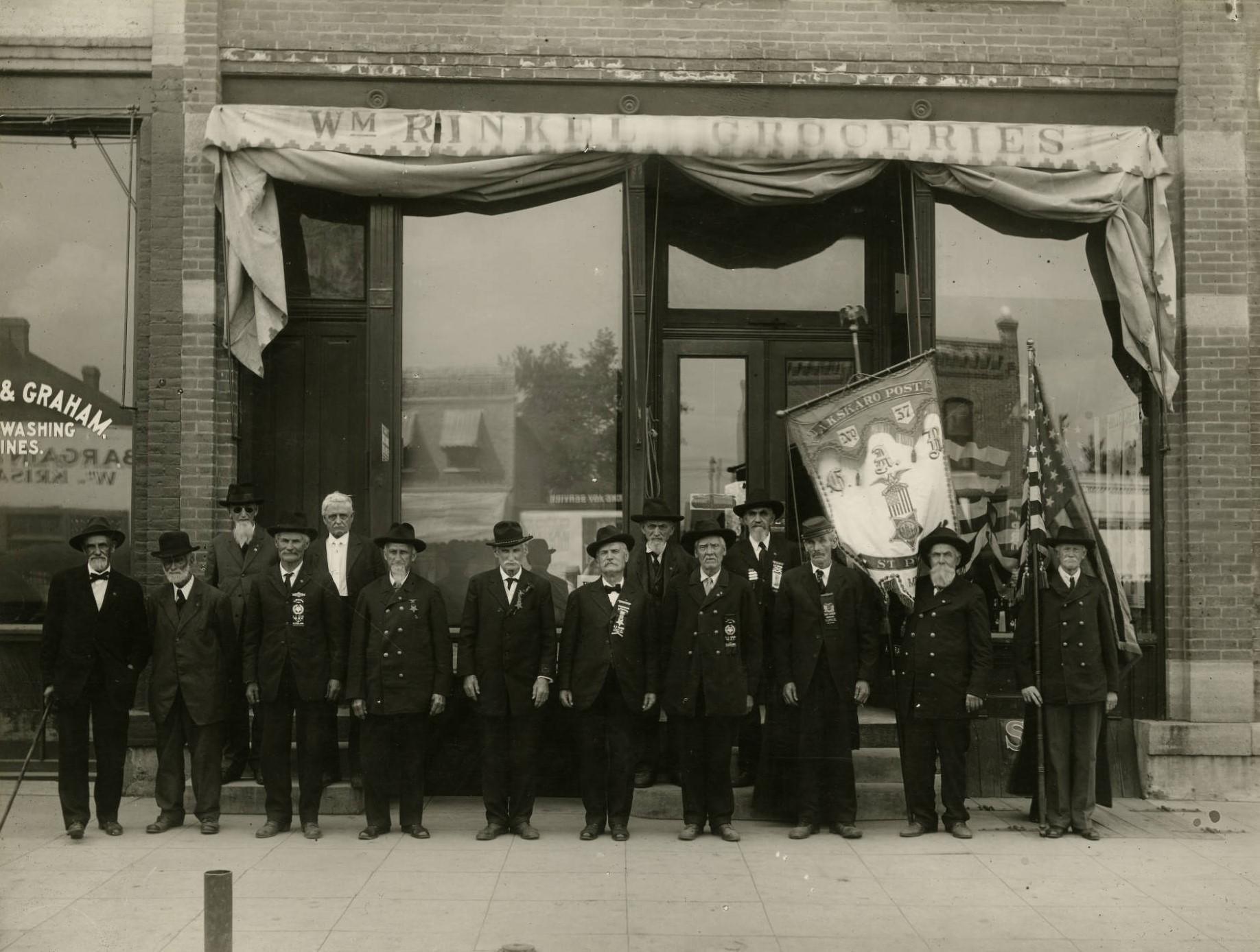 Grand Army of the Republic, ca 1920
