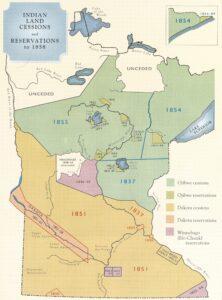 Minnesota Treaty Map