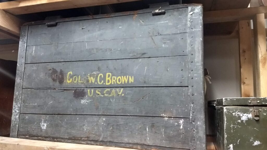 W. C. Brown trunk