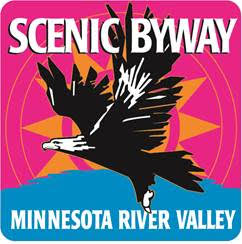 Minnesota River Valley National Scenic Byway logo