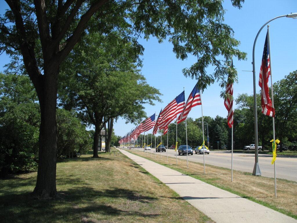 Minnesota Avenue looking north