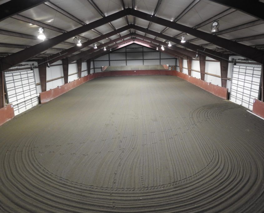 Indoor Arena at Trinity Equestrian Center