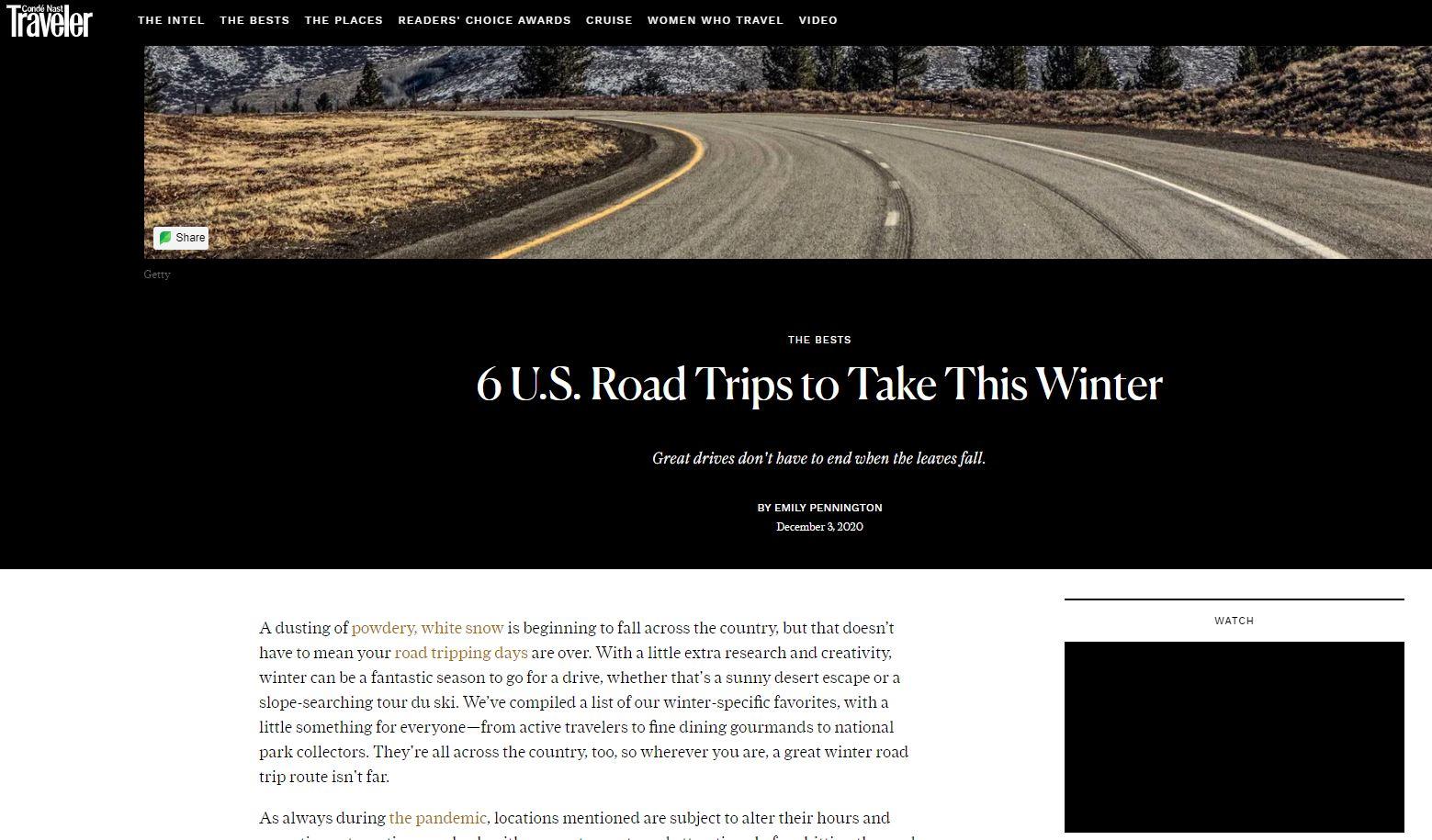 Topnotch Road Trips