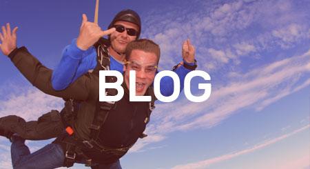 Blog skydiving