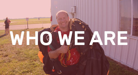 who we are - skydiving