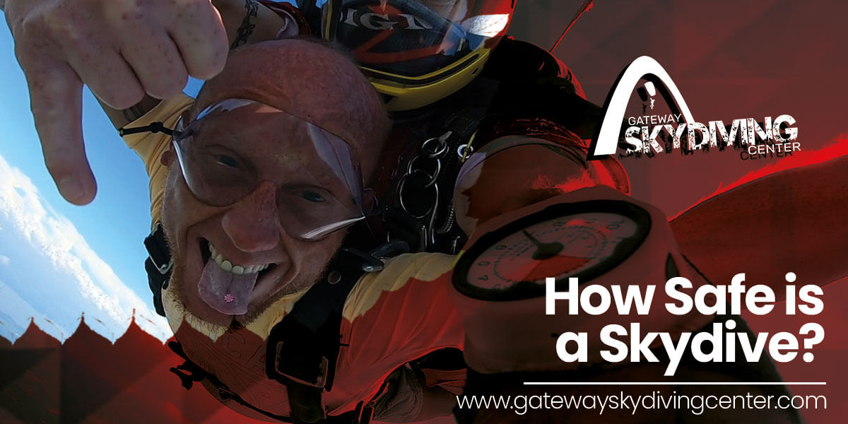 You are currently viewing How Safe is a Skydive?