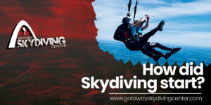 How did skydiving start?