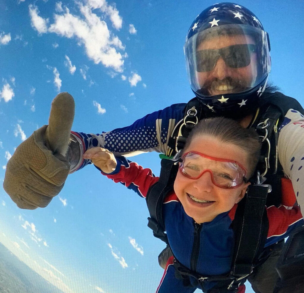 Specific Questions About Skydiving