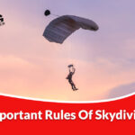 Important rules for skydiving