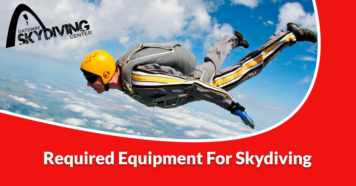You are currently viewing Required equipment for skydiving