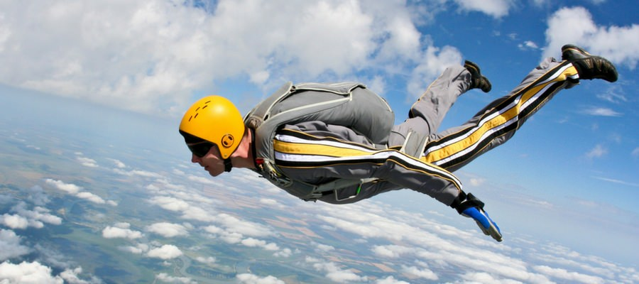 required equipment for skydiving